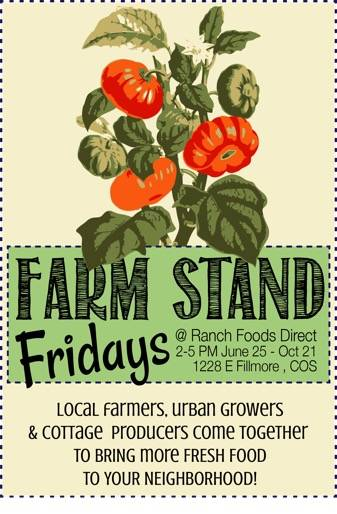 Introducing Farm Stand Fridays at RFD!
