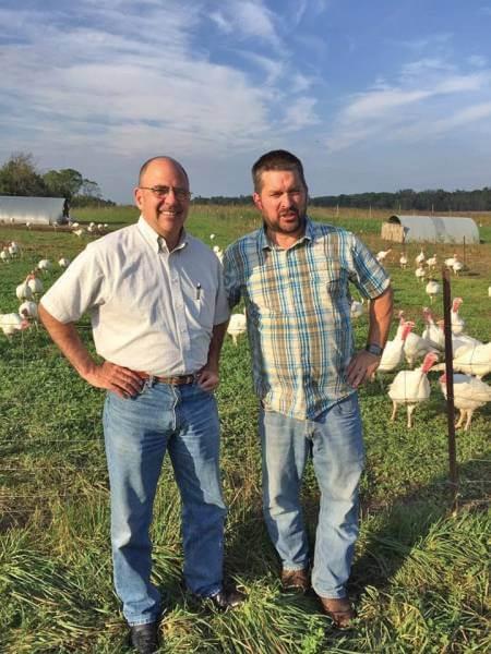 Farm-to-table pioneer raises turkeys with room to roam