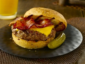 BONUS RECIPE: Maple Bacon Beer Burger